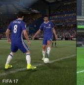 《FIFA17》VS《PES2017》图像引擎比照视频 各有所长