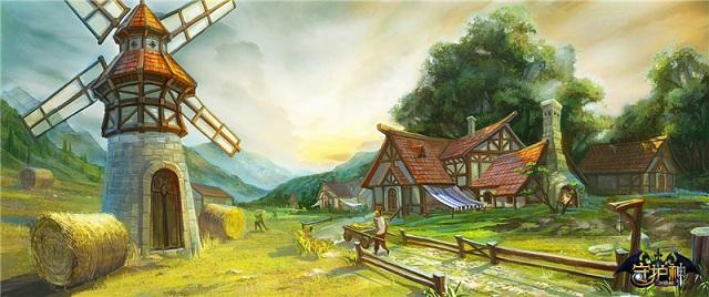 绿岸奇幻新游今日上线 定名《守护神之觉醒》