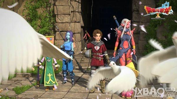 《勇者斗恶龙X》迎新春 免费试玩今日开放