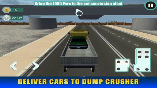 汽车破碎垃圾车模拟iOS版