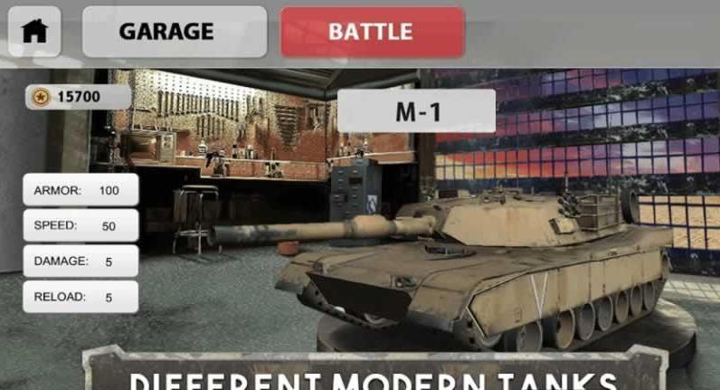 坦克大战军团战3D汉化版