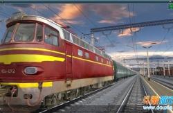 铁道工场3模拟火车2012华美版 5+6号升级档+破解补丁
