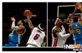 《NBA2K14》新盖帽截图   削弱进攻玩家懂得防守
