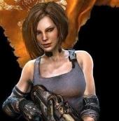 那些游戏中的霸气女汉子   小心萝莉推倒你!