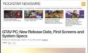 《侠盗飞车5》PC版跳票至3月24日 配置公布 平易近人