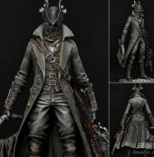 《血源》精美猎人手办公布 完美还原猎人细节