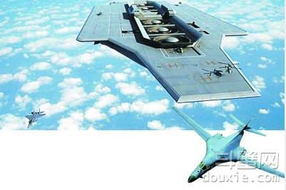 """美军""""航天母舰""""明年试飞 3架737那么宽!"""