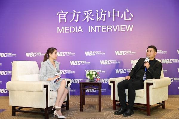 世界区块链峰会|专访量子比特币QBTC创始人,中国区块链创投联盟主席张建国