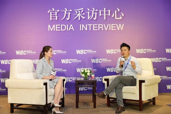 世界区块链峰会|专访STBChain CEO刘海峰