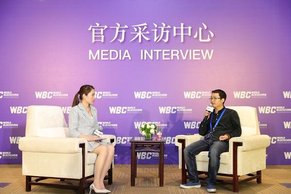 世界区块链峰会 专访ABitchain创始人赵美军