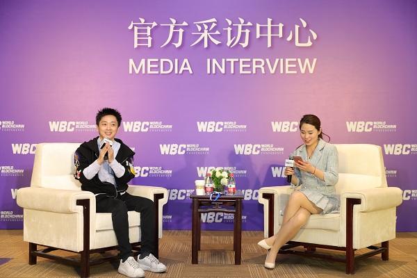 世界区块链峰会|专访墨麟集团总裁周志峰