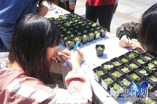 《幻想计划》爱心公益 种下一片绿荫收获一份希望
