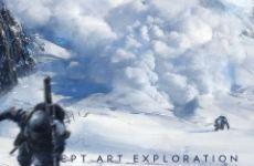 《战地5》全新艺术概念图公布 或将加入挪威/北非战场