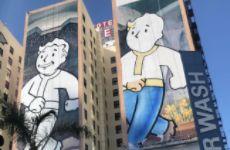 《辐射76》巨幅墙绘亮相洛杉矶E3会场 全是哔哔小子