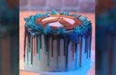 《守望先锋》猎空亲制周年庆蛋糕 让人垂涎欲滴