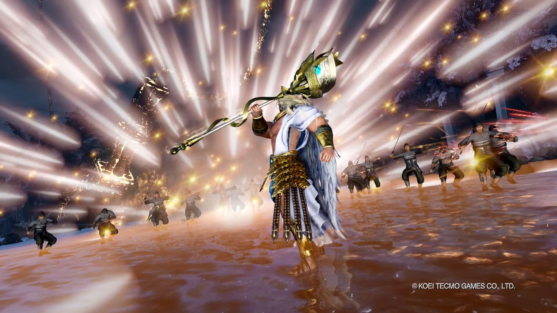 《无双大蛇3》首个实机演示公布 宙斯操控雷电强势登场