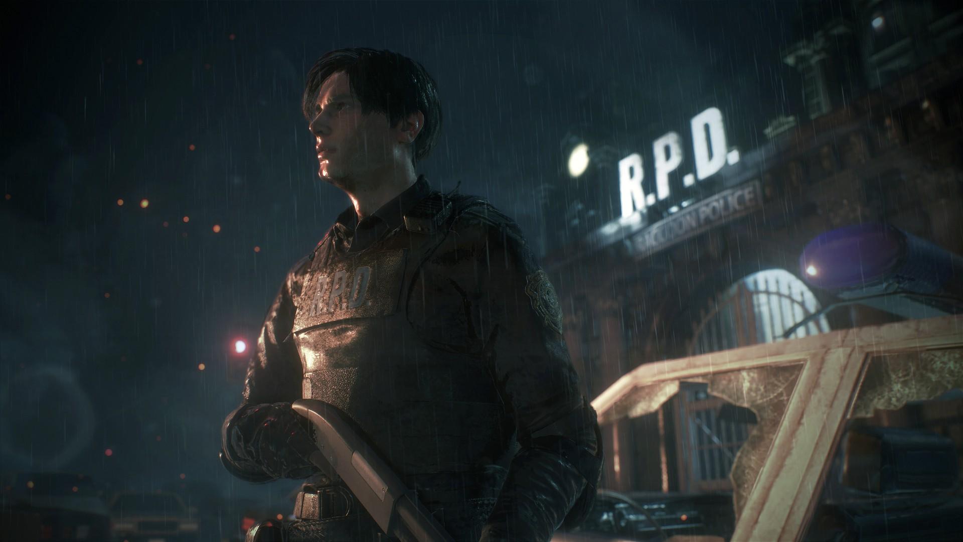 生化危机2重制版首批游戏截图公布 中文版同步发售 现已上架PS4港服