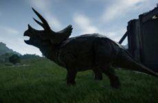 侏罗纪世界进化纯种角鼻龙战斗力视频分享