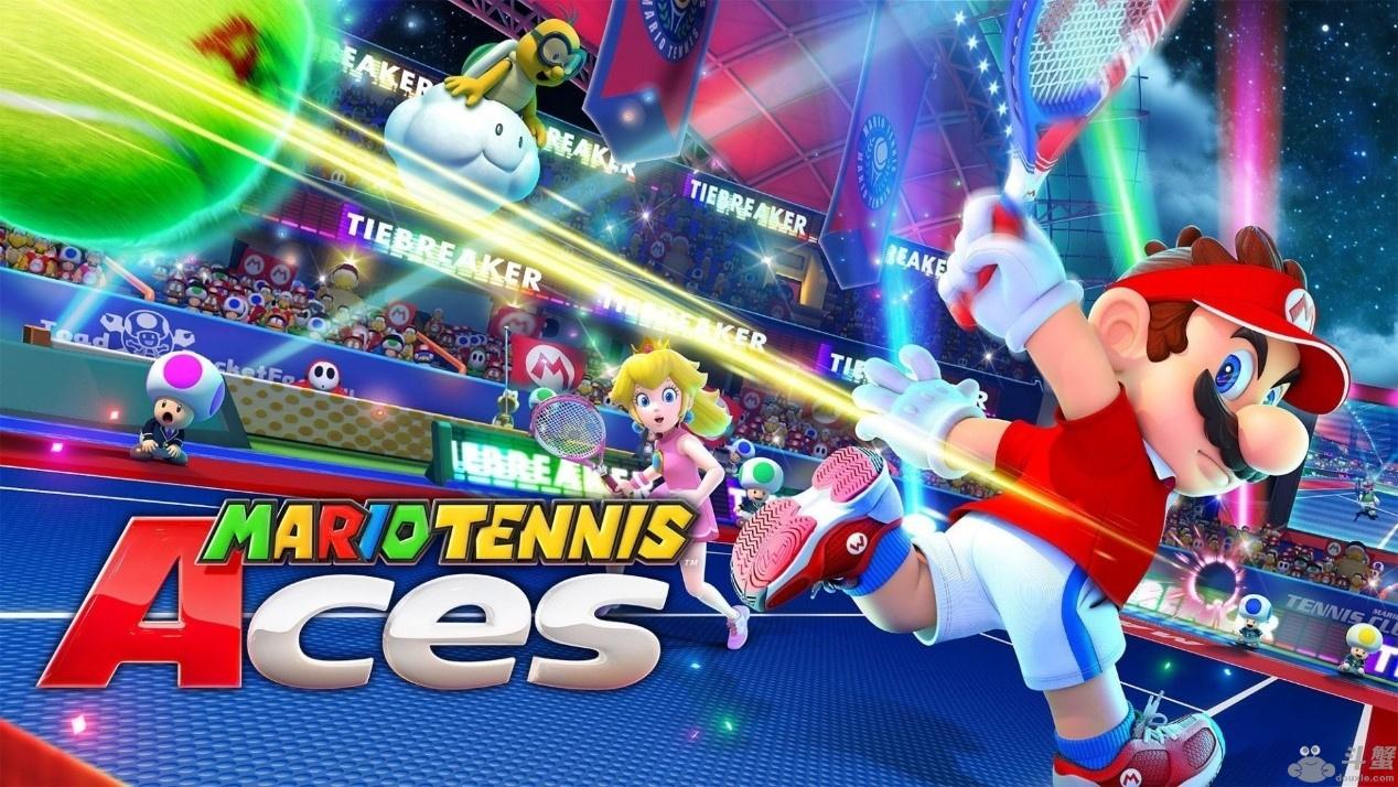 去斗鱼参加马里奥网球ACES公开赛 成就明日之星