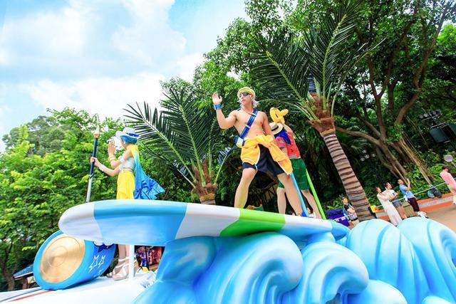 《王者荣耀》夏日海滩系列皮肤cos 钟无艳、夏侯惇、项羽100%还原