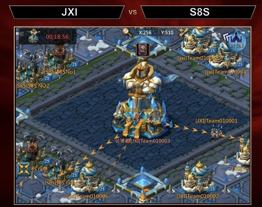 CJ2018:王国纪元超级豪盟空降现场,上演史诗级奇观战!