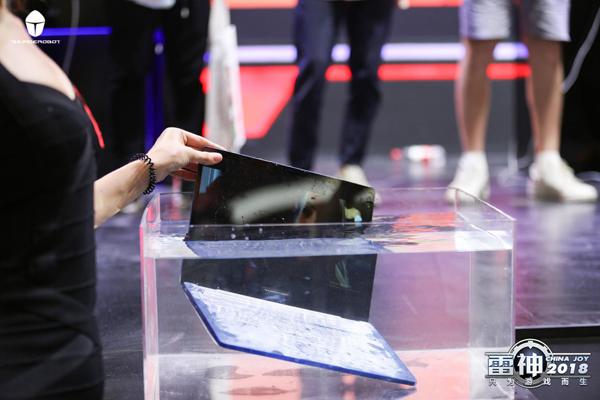 ChinaJoy2018 雷神的新品是扔在水里发布的