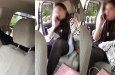黑色女子乘专车脱鞋翘脚 司机劝说无果拍视频造滴滴封禁