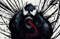 《毒液:致命守护者》中文艺术海报公布 水墨风格气势逼人