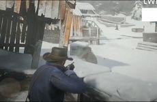 《荒野大镖客2》偷跑视频 雪地狩猎及帮派火拼