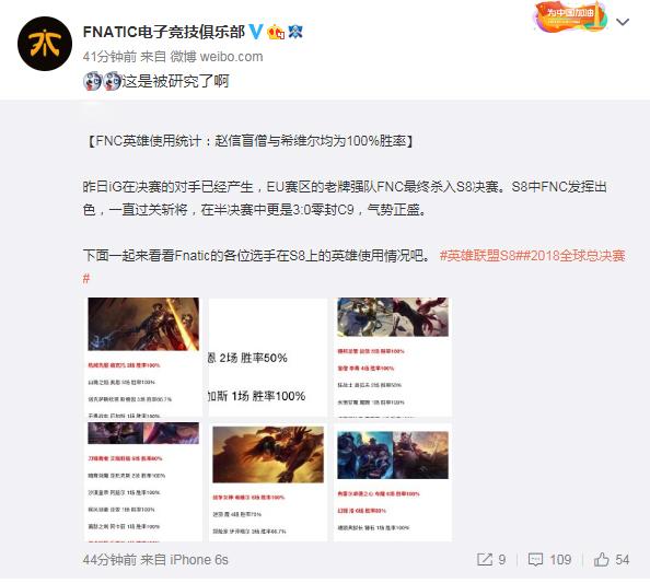 FNC自嘲已被研究透 网友纷纷毒奶冠军