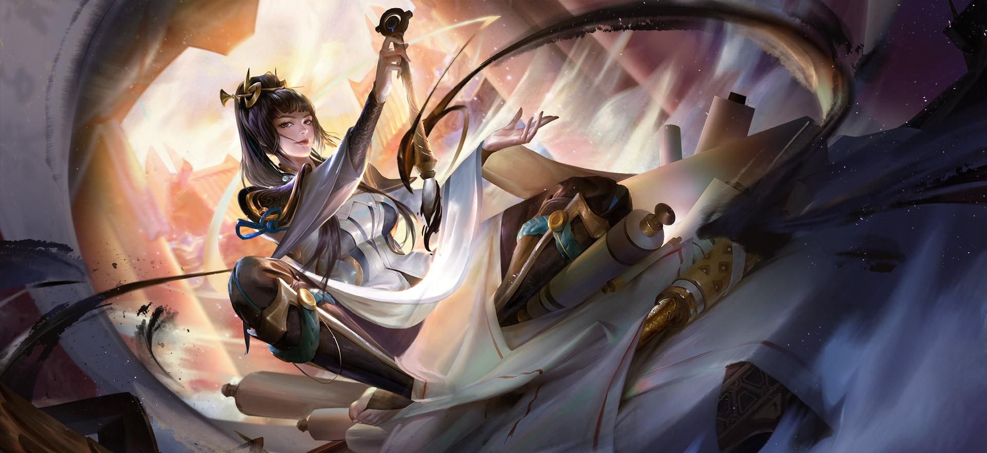 《王者荣耀》新英雄上官婉儿公布 怒放为妖艳的牡丹