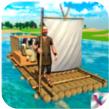 木筏岛屿生存