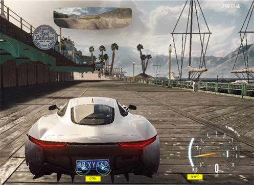 《极品飞车OL》游艇码头的飙车体验