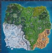堡垒之夜新地图雪山一览