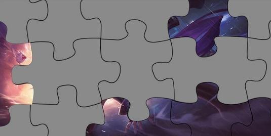 王者荣耀:新版本地图模型预览,杀手不太冷第五块原画拼图发布
