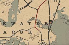 荒野大鏢客2完美麝鼠皮獲取地點