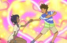 《精灵宝可梦:日月》动画最新一集 小刚和丽姿一见钟情