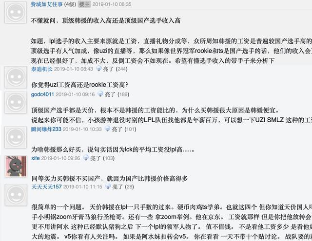 网友热议:顶级韩援收入不如普通国产