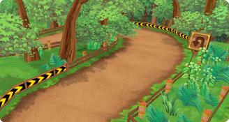 跑跑卡丁车经典赛道,在森林里寻找迷失的回忆