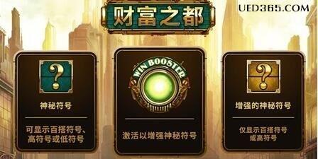 2019上新季!UEDBET平台MG游戏《财富之都》评测