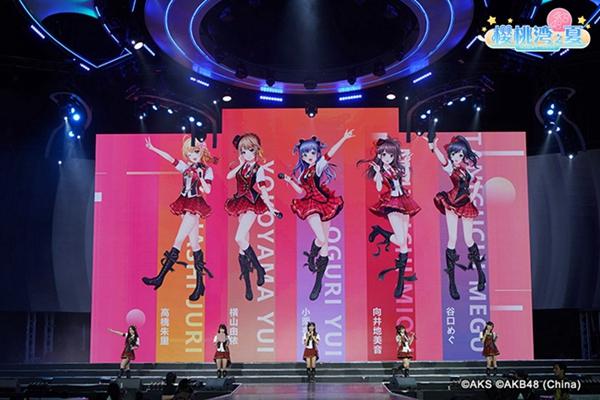 AKB48领衔 《AKB48樱桃湾之夏》首批成员立绘曝光
