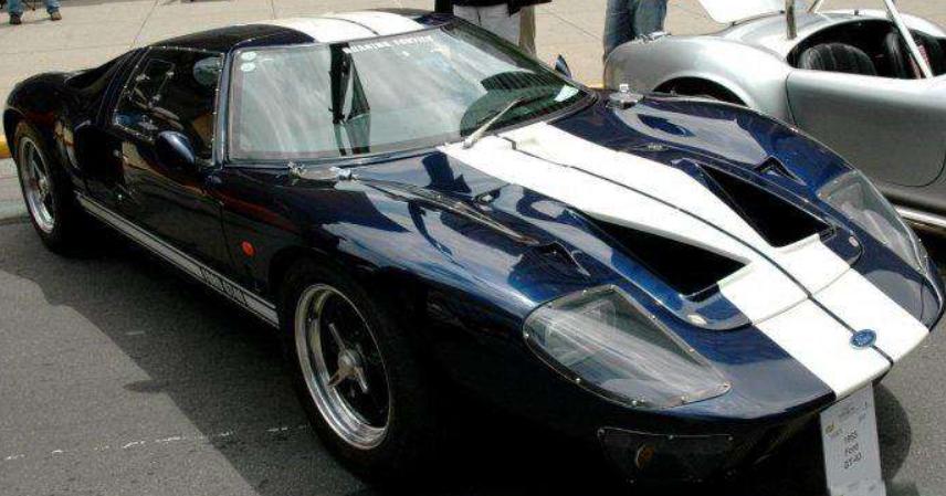 《极品飞车OL》美式简单粗暴——福特 GT40 Mk1 1965
