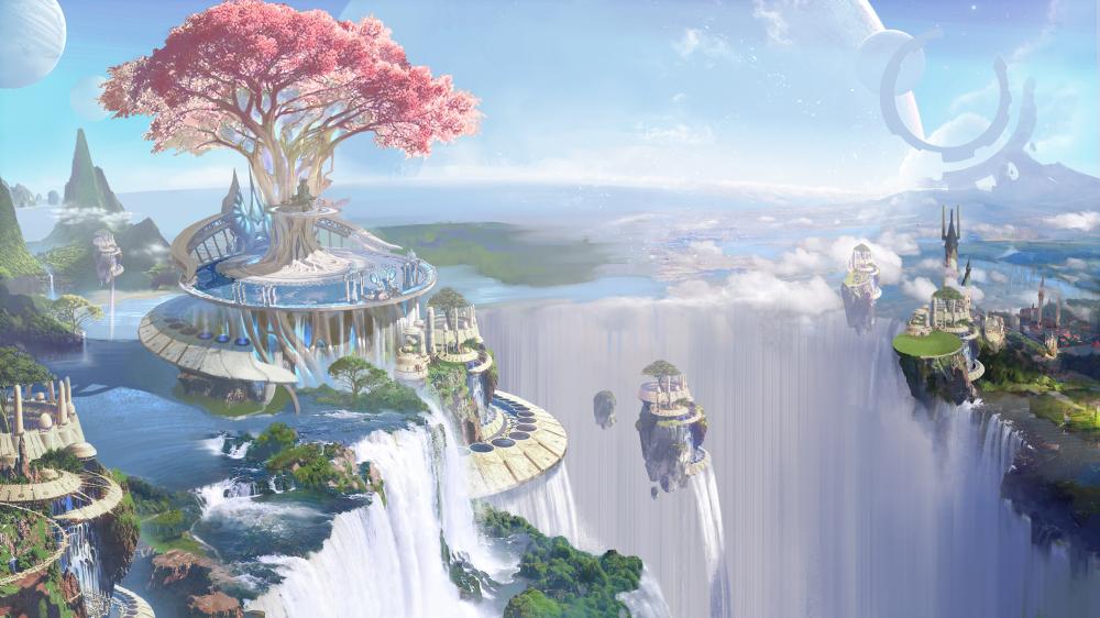 世界的样子,飞起来才知道!《完美世界》手游特色玩法带来全新体验