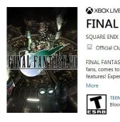《最終幻想7》官方開啟預定  價格約為107元