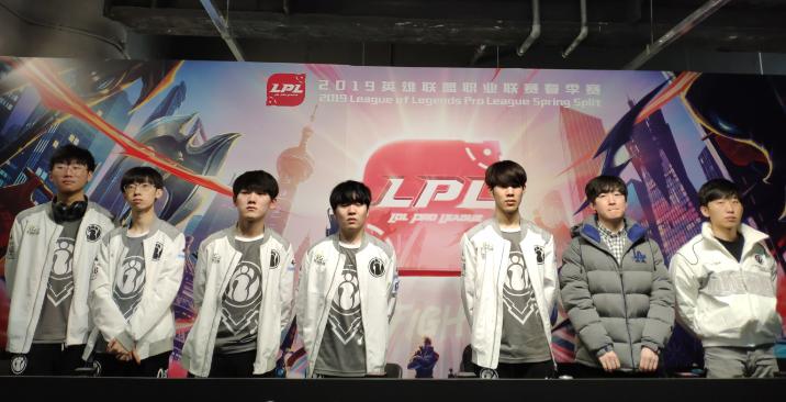 IG采访:连胜不重要 季后赛表现才重要