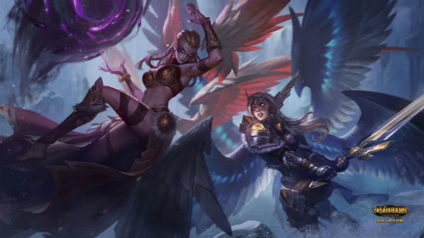 正义天使&堕落天使重做上线 光与暗的交锋