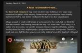 《欧洲卡车模拟2》预告片发布  建设一个新地图拓展