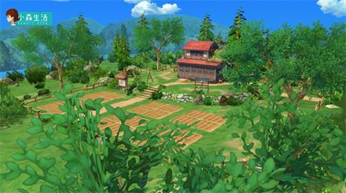 《小森生活》村庄初探,海边山间的春暖花开