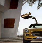 《极品飞车OL》经典鸥翼门——梅赛德斯-奔驰 SLS AMG Black Series 2014