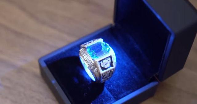 S赛冠军戒指价值曝光 估价超过一万元